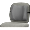 "Fellowes Standard Back Rest - Graphite - Adjustable Strap - 13"" x 4"" x 12"" - Graphite"