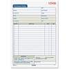 "Adams Carbonless Purchase Order Statement - Tape Bound - 2 Part - Carbonless Copy - 8.43"" x 5.56"" Sheet Size - 2 x Holes - Assorted Sheet(s) - 1 / Each"