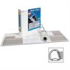"Avery Heavy-Duty Reference View Binder - 5"" Binder Capacity - Letter - 8 1/2"" x 11"" Sheet Size - 1050 Sheet Capacity - 3 x D-Ring Fastener(s) - 4 Internal Pocket(s) - Chipboard, Polypropylene - White"