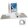 """Avery EZD Heavy-Duty Reference View Binder - 3"""" Binder Capacity - Letter - 8 1/2"""" x 11"""" Sheet Size - 3 x D-Ring Fastener(s) - 4 Internal Pocket(s) - Chipboard, Polypropylene - White - Recycled - 1 Eac"""