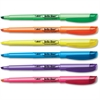 BIC Brite Liner Highlighter - Chisel Point Style - Assorted Water Based Ink