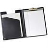 "Cardinal Sealed Vinyl Clip Padfolio - Letter - 8 1/2"" x 11"" Sheet Size - 100 Sheet Capacity - 1 Inside Front Pocket(s) - Vinyl, Polyvinyl Chloride (PVC) - Black - 1 Each"