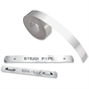 "Dymo 1/2"" Aluminum Tape - 0.50"" Width x 12 ft Length - Silver - Aluminum - 1 Each"