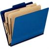 "Pendaflex Classification Folder - Letter - 8 1/2"" x 11"" Sheet Size - 2"" Expansion - 4 Fastener(s) - 2"" Fastener Capacity for Folder, 1"" Fastener Capacity for Divider - 2/5 Tab Cut - 2 Divider(s) - 20"