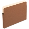 "Pendaflex File Pocket - Legal - 8 1/2"" x 14"" Sheet Size - 1 3/4"" Expansion - Manila, Red Fiber - Recycled"
