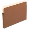 "Pendaflex File Pocket - Legal - 8 1/2"" x 14"" Sheet Size - 1 3/4"" Expansion - Manila, Red Fiber - Recycled"