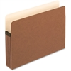 "Pendaflex Expanding File Pocket - Letter - 8 1/2"" x 11"" Sheet Size - 5 1/4"" Expansion - Manila, Red Fiber - Recycled"