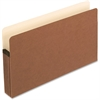"Pendaflex Expanding File Pocket - Legal - 8 1/2"" x 14"" Sheet Size - 5 1/4"" Expansion - Manila, Red Fiber - Recycled"