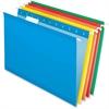 "Pendaflex Hanging Folder - Legal - 8 1/2"" x 14"" Sheet Size - 1/5 Tab Cut - Blue, Red, Yellow, Orange, Green - 25 / Box"