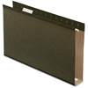 "Pendaflex Standard Green Hanging Folder - 2"" Folder Capacity - Legal - 8 1/2"" x 14"" Sheet Size - Pressboard - Standard Green - 25 / Box"