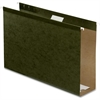 "Pendaflex Hanging Folder - 3"" Folder Capacity - Legal - 8 1/2"" x 14"" Sheet Size - 3"" Expansion - Pressboard - Standard Green - 25 / Box"