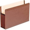 "Pendaflex Premium Reinforced File Pocket - Legal - 8 1/2"" x 14"" Sheet Size - 7"" Expansion - Red Fiber, Manila - Red Fiber - Recycled"