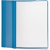 "Oxford Oxford Clear Front Report Cover - Letter - 8 1/2"" x 11"" Sheet Size - 3 x Tang Fastener(s) - 1/2"" Fastener Capacity for Folder - Light Blue"