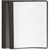 "Oxford Oxford Clear Front Report Cover - Letter - 8 1/2"" x 11"" Sheet Size - 100 Sheet Capacity - 3 x Tang Fastener(s) - 1/2"" Fastener Capacity for Folder - Leatherette - Black, Clear - Recycled"