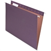 "Pendaflex 100% Recycled Paper Hanging Folders - Letter - 8 1/2"" x 11"" Sheet Size - 1/5 Tab Cut - Fiber - Violet - 25 / Box"