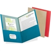 "Pendaflex Oxford 100% Recycled Paper Twin Pocket Folders - Letter - 8 1/2"" x 11"" Sheet Size - 100 Sheet Capacity - 2 Pocket(s) - Assorted - 25 / Box"