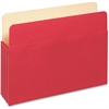 "Pendaflex Colored File Pocket - 9 1/2"" x 11 3/4"" Sheet Size - 875 Sheet Capacity - 3 1/2"" Expansion - Card Stock - Red - 1 / Each"