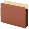 "Pendaflex Extra Wide Accordion File Pocket - Letter - 8 1/2"" x 11"" Sheet Size - 3 1/2"" Expansion - 24 pt. Folder Thickness - Tyvek - Brown - 10 / Box"