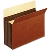 "Pendaflex Expansion File Pocket - Letter - 8 1/2"" x 11"" Sheet Size - 5 1/4"" Expansion - 24 pt. Folder Thickness - Tyvek - Brown - 10 / Box"