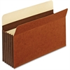 "Pendaflex Expansion File Pocket - Legal - 8 1/2"" x 14"" Sheet Size - 5 1/4"" Expansion - 24 pt. Folder Thickness - Tyvek - Brown - 10 / Box"