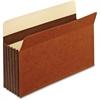 "Pendaflex Expansion File Pocket - Legal - 8 1/2"" x 14"" Sheet Size - 5 1/4"" Expansion - 24 pt. Folder Thickness - Tyvek - Brown - 10 / Box"