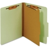 "Pendaflex Letter Classification Folder With Divider - Letter - 8 1/2"" x 11"" Sheet Size - 1"" Fastener Capacity for Folder - 1 Divider(s) - 25 pt. Folder Thickness - Pressboard - Green - 1 Each"