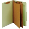 "Pendaflex Classification Folder With Divider - Legal - 8 1/2"" x 14"" Sheet Size - 1"" Fastener Capacity for Folder - 2 Divider(s) - 25 pt. Folder Thickness - Pressboard - Green - 1 Each"
