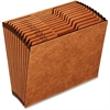 """Pendaflex High-Quality Monthly Expanding File - Letter - 8 1/2"""" x 11"""" Sheet Size - 12 Pocket(s) - 1/3 Tab Cut - Top Tab Location - 80 pt. Folder Thickness - Brown - 1 Each"""