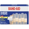 "Band-Aid Adhesive Bandage - 0.75"" - 100/Box"