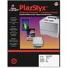 """Simon PlazStyx Laser Label - 1"""" Width x 2.62"""" Length - 30 / Sheet - Rectangle - Laser - White - Plastic - 1500 / Pack"""