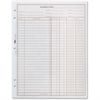 """TOPS Easy Use Inventory Sheet - 100 Sheet(s) - 1 Part - 11"""" x 8.50"""" Sheet Size - White Sheet(s) - 2 / Pack"""
