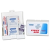 "First Aid Kit - 39 x Piece(s) - 2.8"" Height x 4.1"" Width x 1.3"" Depth - 1 Each"