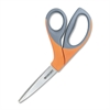 "Westcott Elite Office Expert Scissors - 3.50"" Cutting Length - 8"" Overall Length - Pointed - Bent-left/right - Stainless Steel - Stainless Steel"