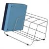 "Fellowes Catalog Rack - 4 Compartment(s) - 8"" Height x 16.5"" Width x 10"" Depth - Desktop - Silver - Steel - 1Each"