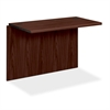 "HON 10700 Series Desk Bridge - 42"" x 24"" x 29.5"" - Waterfall Edge - Material: Wood - Finish: Laminate, Mahogany"