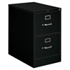 "Vertical File - 18.3"" x 26.5"" x 29"" - 2 x Drawer(s) for File - Legal - Vertical - Rust Resistant, Security Lock, Label Holder - Black - Baked Enamel - Metal, Aluminum - Recycled"