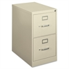 "HON 410 Series Vertical File - 15"" x 22"" x 26.1"" - 2 x Drawer(s) - Letter - Vertical - Security Lock - Putty - Baked Enamel - Steel"