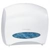 """Kimberly-Clark Windows Series-i JRT Jr. ESCORT Jumbo Roll Tissue Dispenser - Roll Dispenser - 1 x Roll - 13.9"""" Height x 16"""" Width x 5.8"""" Depth - Plastic - White"""