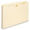 "Smead Manila File Jackets - Legal - 8 1/2"" x 14"" Sheet Size - 1"" Expansion - 11 pt. Folder Thickness - Manila - Recycled - 50 / Box"