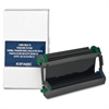 Elite Image Remanufactured Ribbon - Alternative for Panasonic (KXFA136) - Thermal Transfer - 330 Pages - Black - 1 Each