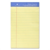 "Premium-grade Writing Pads - 50 Sheets - Printed - Wire Bound - Both Side Ruling Surface - 16 lb Basis Weight - Jr.Legal 5"" x 8"" - Canary Paper - 1Each"