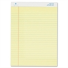 "Sparco Legal Ruled Pad - 50 Sheets - Printed - Glue - 16 lb Basis Weight - 8.50"" x 11.75"" - Canary Paper - 1Dozen"