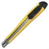 Sparco Fast-Point Snap-Off Blade Knife - Straight Cutting - Yellow