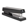 "Full Strip Desktop Stapler - 20 Sheets Capacity - 210 Staple Capacity - Full Strip - 1/4"" Staple Size - Black"