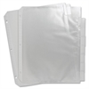 Sparco Top Loading Sheet Protectors with Index Tab - Multi - Polypropylene - 8 / Set