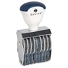 Sparco Rubber Number Stamp - Number Stamp - 8 Bands - 1 Each