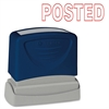 "Sparco POSTED Red Title Stamp - Message Stamp - ""POSTED"" - 1.75"" Impression Width x 0.62"" Impression Length - Red - 1 Each"