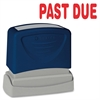 "Sparco PAST DUE Red Title Stamp - Message Stamp - ""PAST DUE"" - 1.75"" Impression Width x 0.62"" Impression Length - Red - 1 Each"