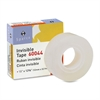 "Invisible Tape - 0.50"" Width x 36 yd Length - 1"" Core - Writable Surface, Photo-safe - 1 / Roll - Clear"