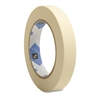 "Sparco Utility Purpose Masking Tape - 0.75"" Width x 60 yd Length - 3"" Core - Crepe Paper Backing - 1 Roll - Tan"